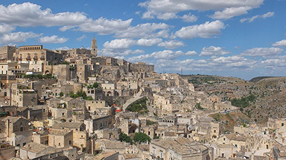 Comment se rendre à Matera en train