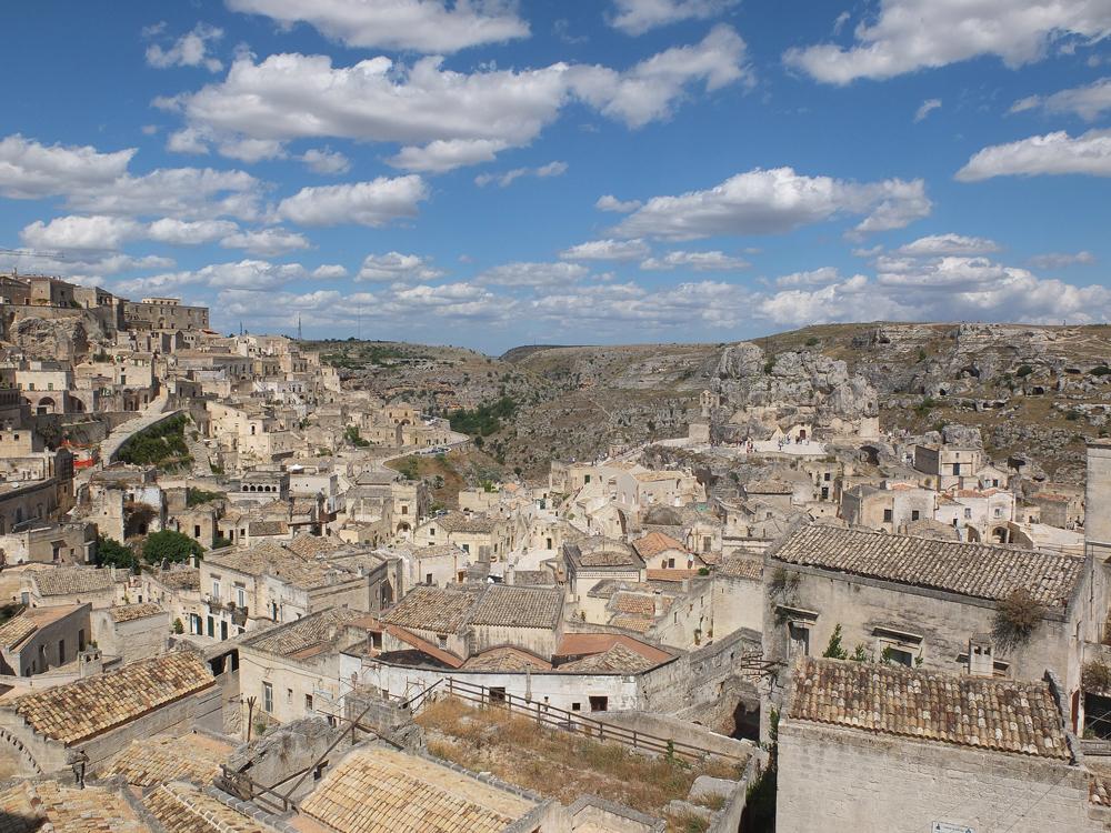 Matera, la cité antique
