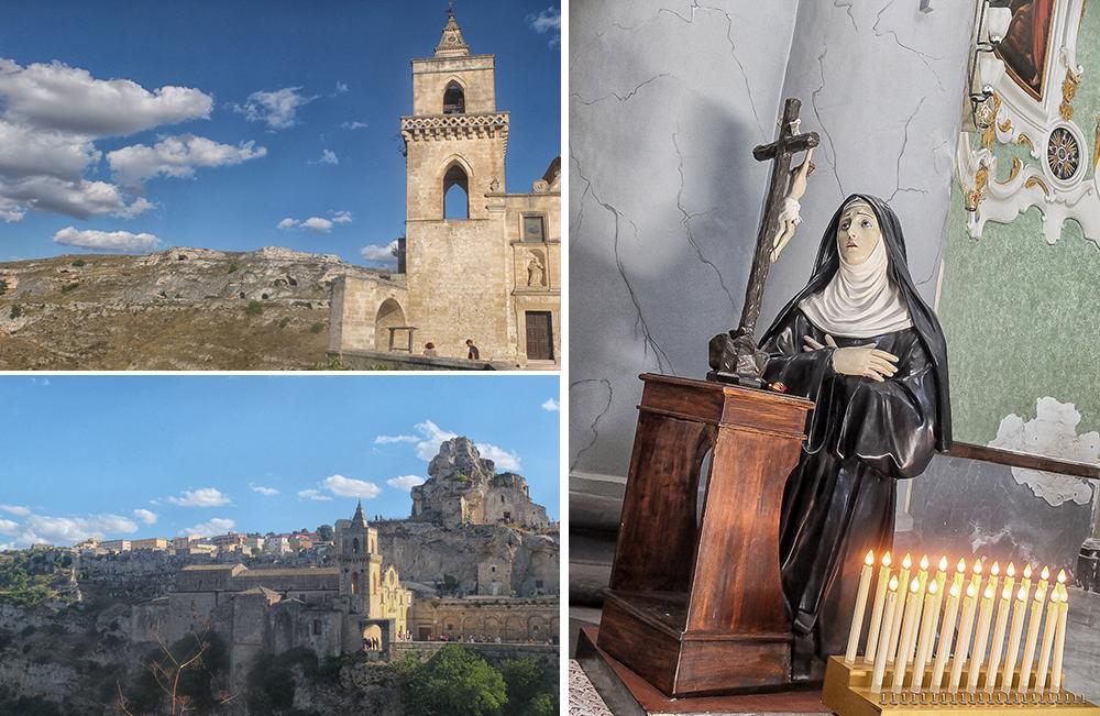 Les églises des Sassi de Matera