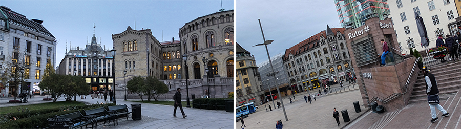 Oslo. Séjour en Norvège