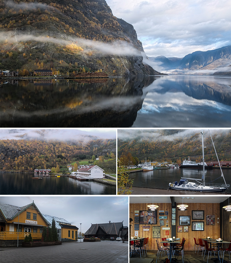 vue sur Flam et les fjords