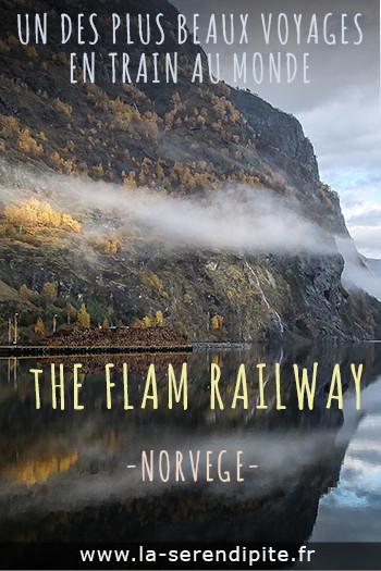Flam railway - Flamsbana en Norvège