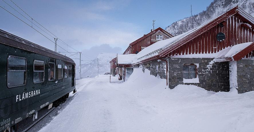 Le petit train de Flåm et les fjords <br> – Un séjour en Norvège –