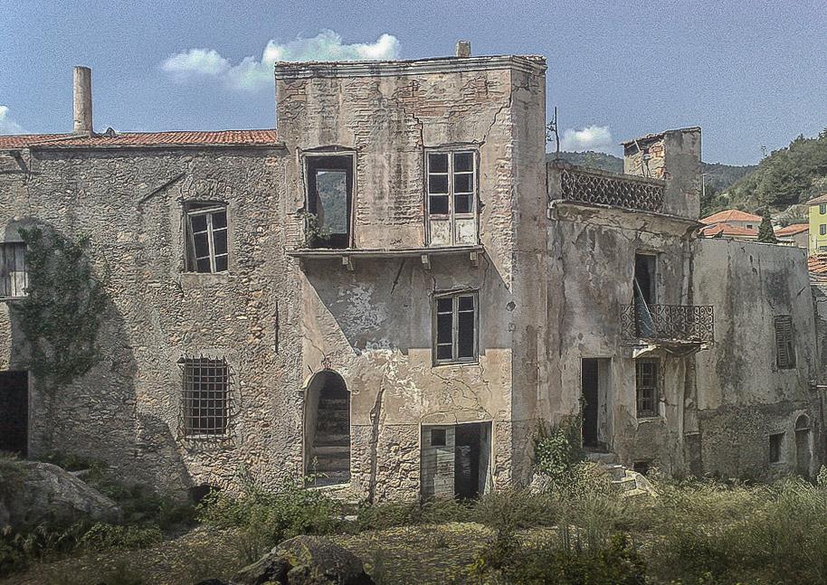 Urbex exploration urbaine à Balestrino
