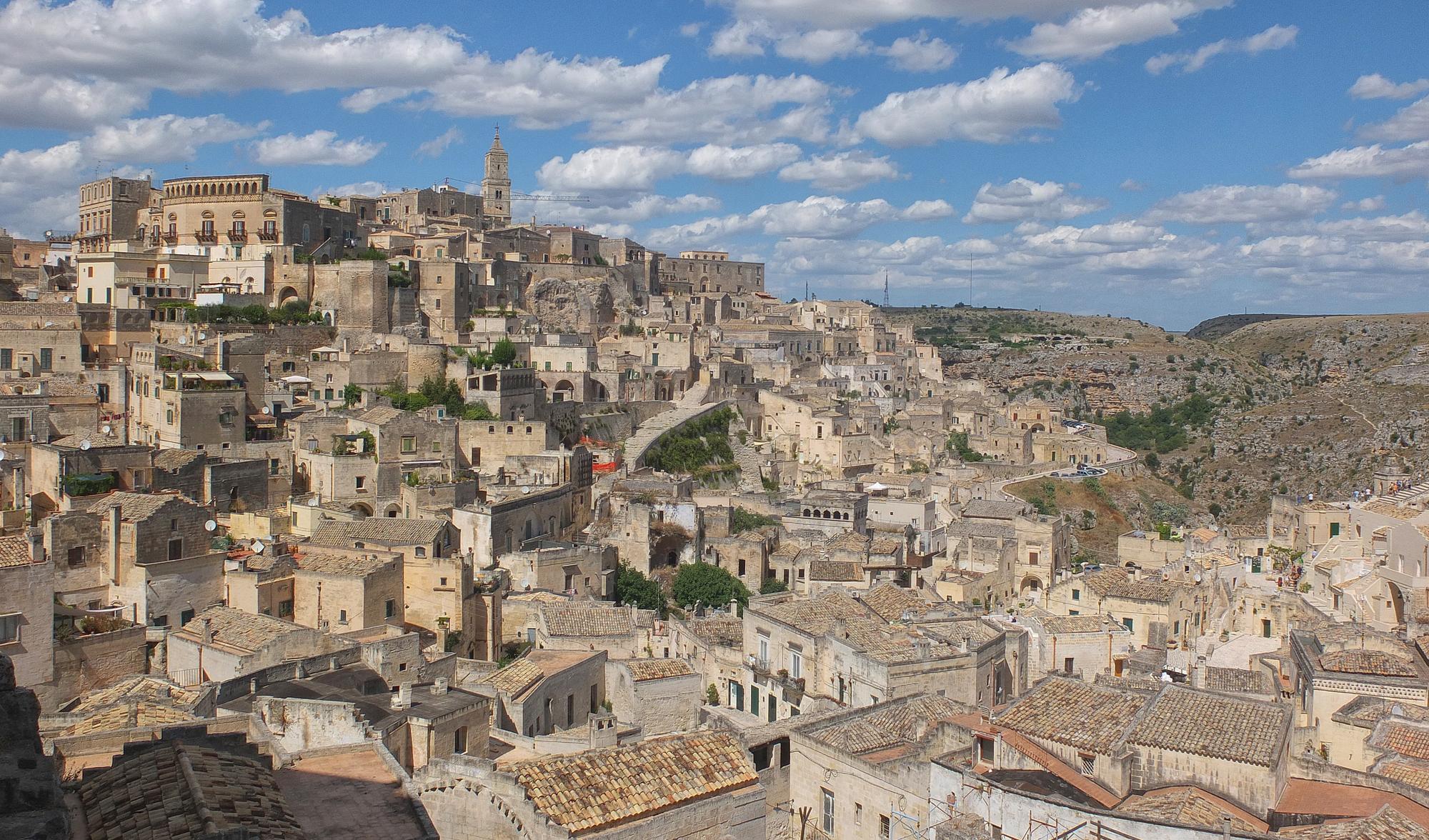 Matera et ses Sassi, un joyau au sud de l'Italie
