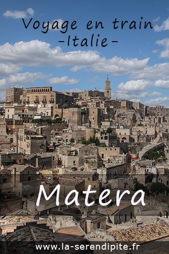 Voyage en Train en Italie, Matera et ses Sassi