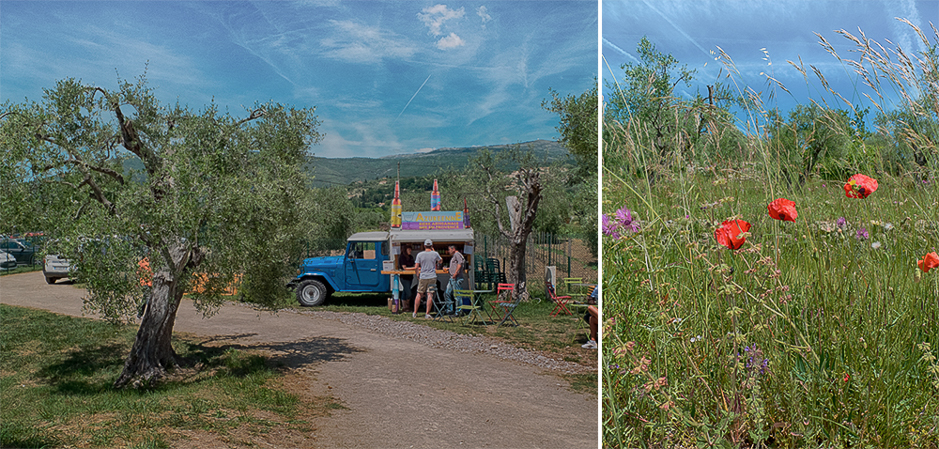 Le village d'Opio et la fête de la rose Centifolia