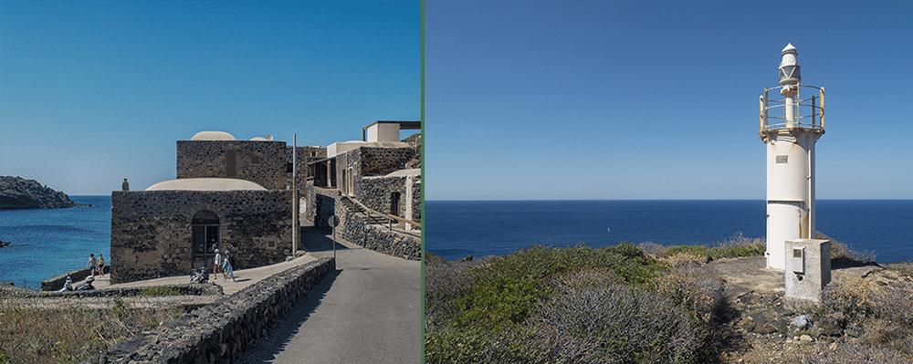Cala Levante sur l'île de Pantelleria