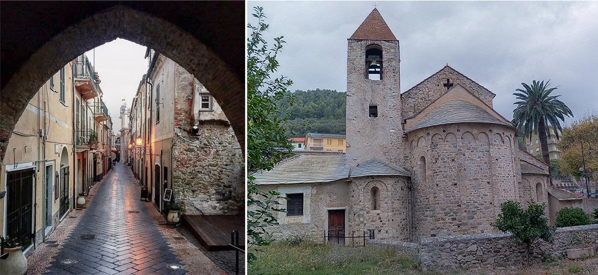 église San Paragorio à Noli