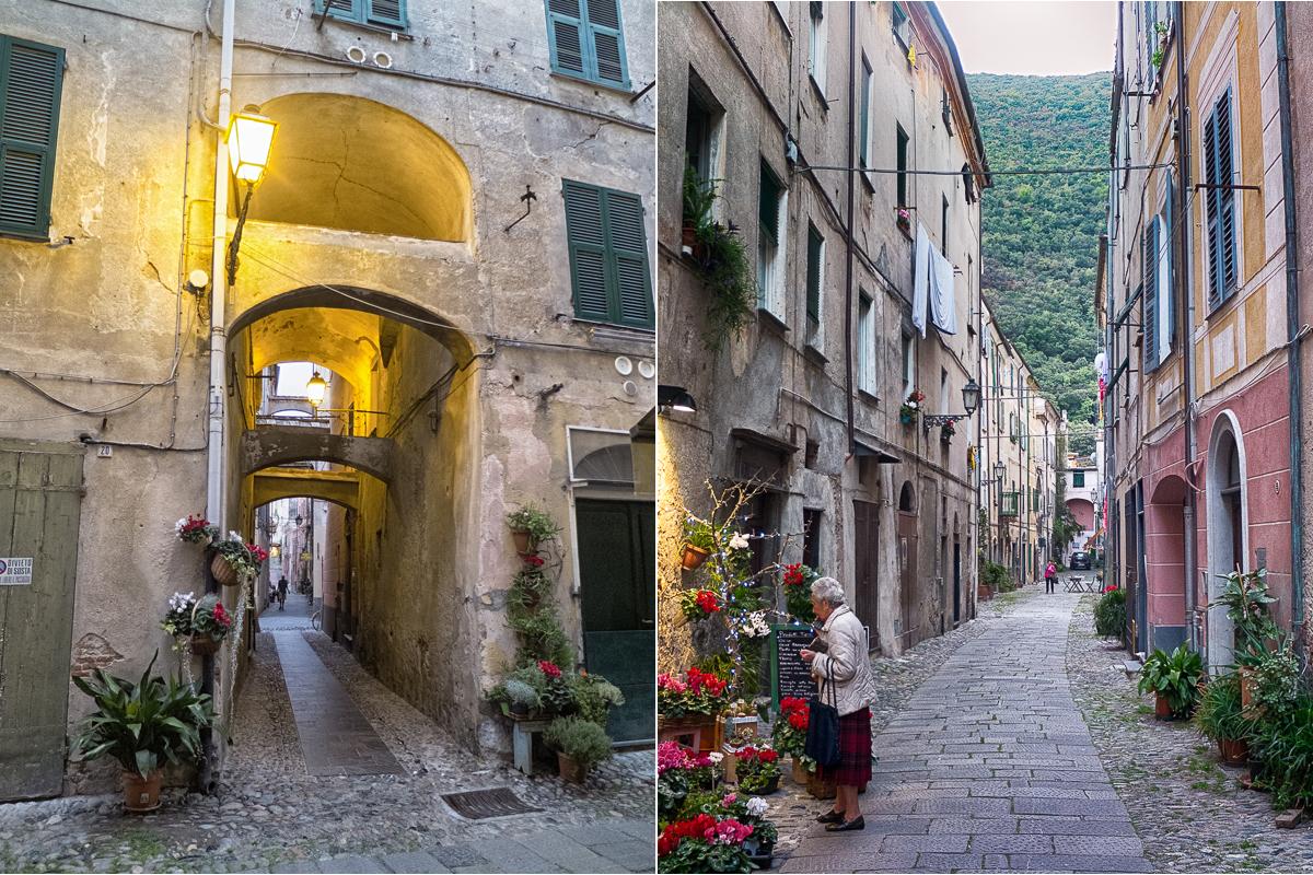 Finalborgo et Noli 2 des plus beaux villages de Ligurie