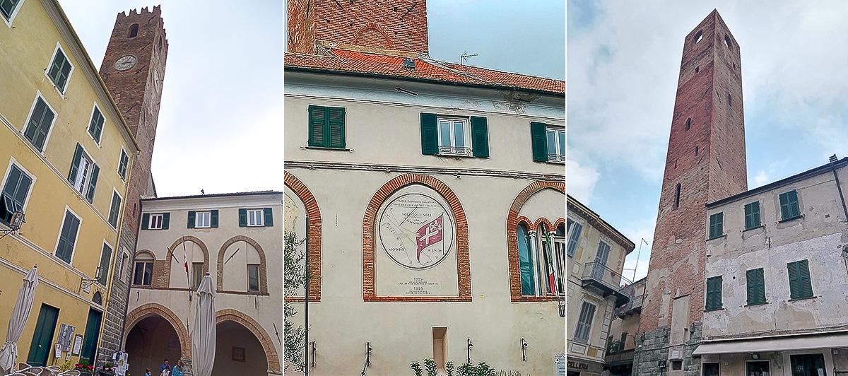 Tours de Noli en Ligurie.