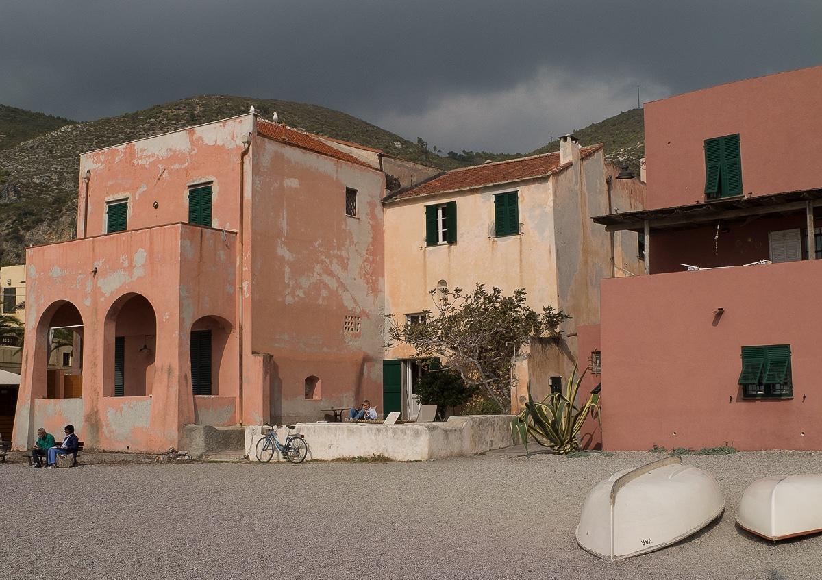Varigotti village de pêcheurs en Ligurie