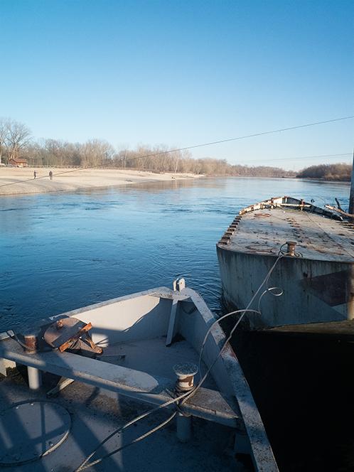 Ponte delle barche Bereguardo en Lombardie