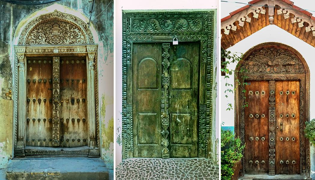 les jolies portes de stone town