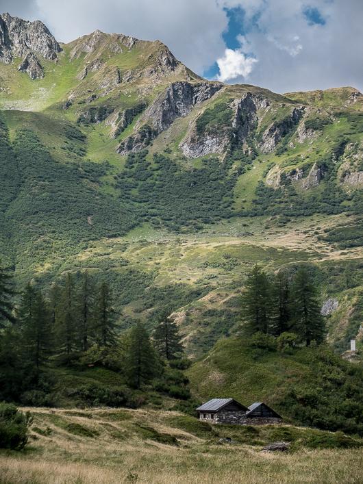 Paysages du Val Formazza en Italie