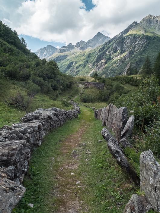 Les jolis sentiers des Alpes Val Formazza