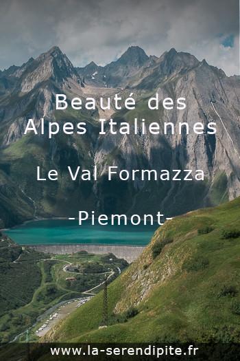 Les Alpes italiennes - Randonnées faciles au Val Formazza