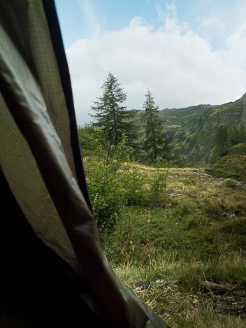 camping bivouac au Val Formazza