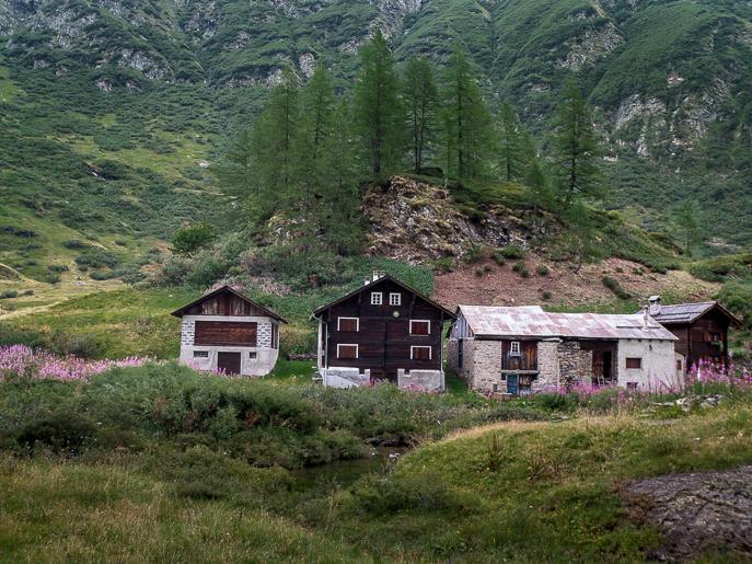 Les maisons Walser au Val Formazza