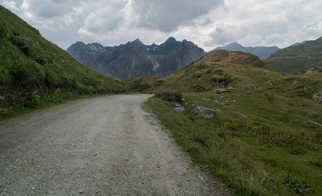 les routes de montagne du Piémont