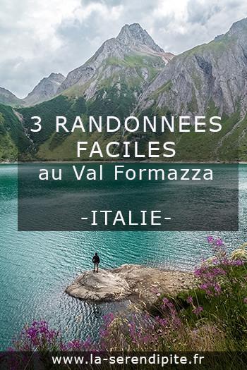 Découverte et randonnée au Val Formazza en Italie