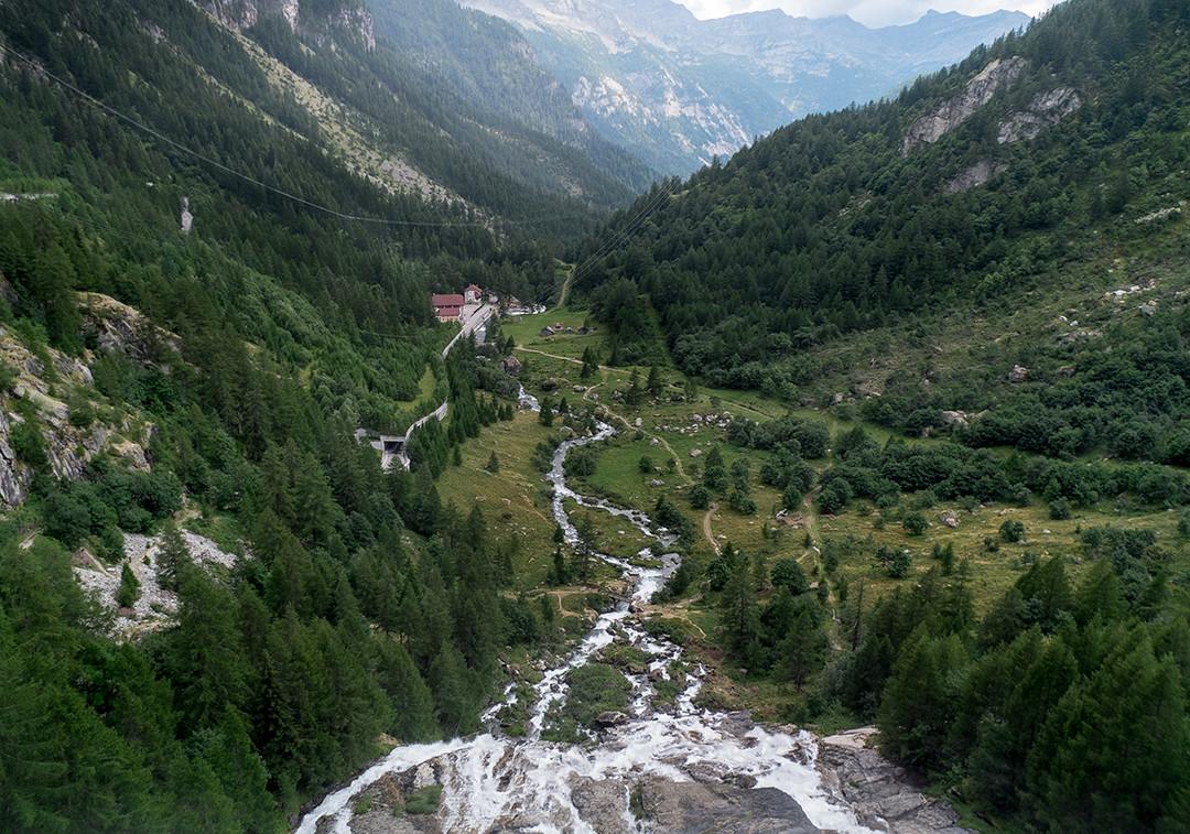 Cascade du Toce en Italie
