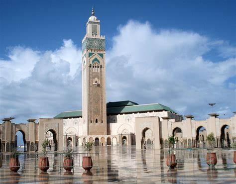 La Grande Mosquée de Casablanca